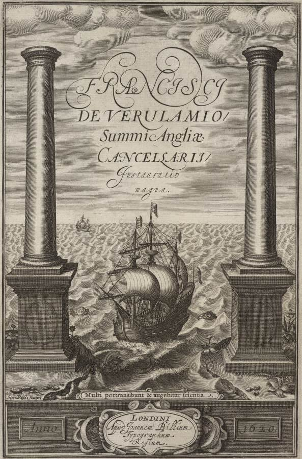 Title page of F Bacon Novum Organum 1620 (© The Trustees of the British Museum)