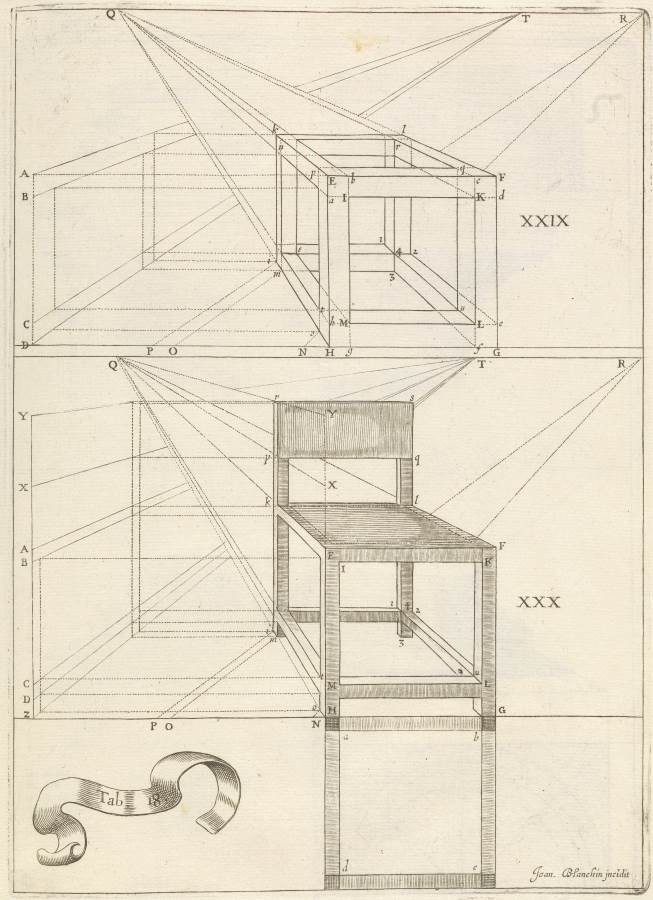 Niceron perspective, 1652 (credit: Wellcome Library, London)